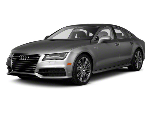 2012 Audi A7 Prices and Values Sedan 4D 3.0T Quattro Prestige side front view