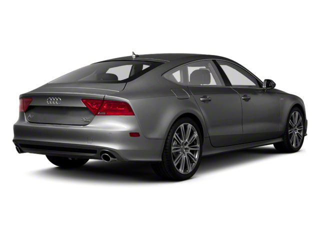 2012 Audi A7 Prices and Values Sedan 4D 3.0T Quattro Prestige side rear view