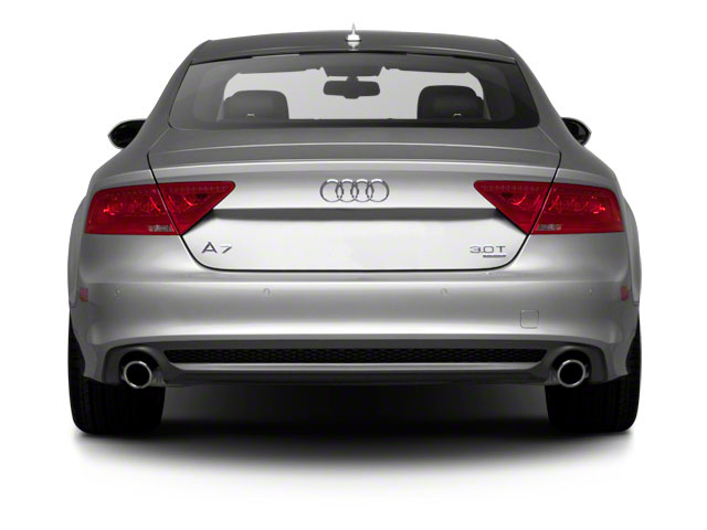 2012 Audi A7 Prices and Values Sedan 4D 3.0T Quattro Prestige rear view