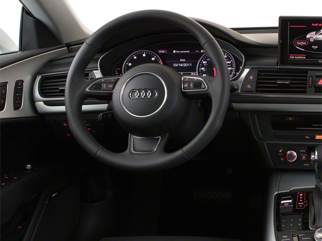 2012 Audi A7 Prices and Values Sedan 4D 3.0T Quattro Prestige driver's dashboard