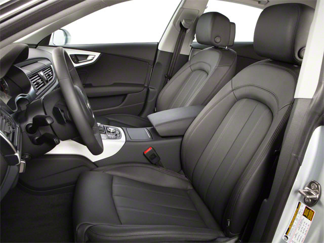 2012 Audi A7 Prices and Values Sedan 4D 3.0T Quattro Prestige front seat interior