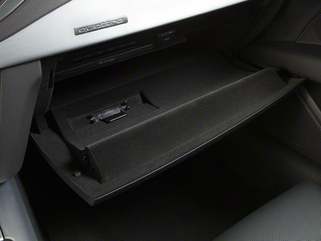 2012 Audi A7 Prices and Values Sedan 4D 3.0T Quattro Prestige glove box
