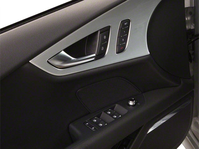 2012 Audi A7 Prices and Values Sedan 4D 3.0T Quattro Prestige driver's side interior controls