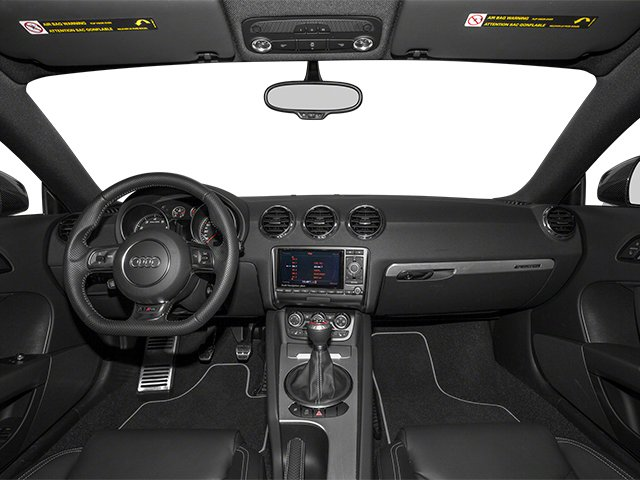 2012 Audi TT RS Pictures TT RS Coupe 2D Quattro photos full dashboard