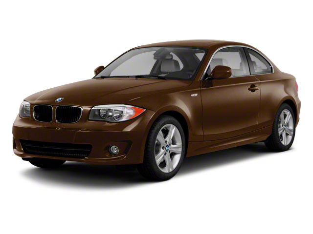 2012 BMW 1 Series Prices and Values Coupe 2D 135i side front view