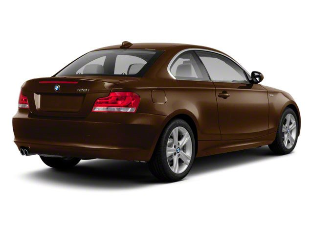 2012 BMW 1 Series Prices and Values Coupe 2D 135i side rear view