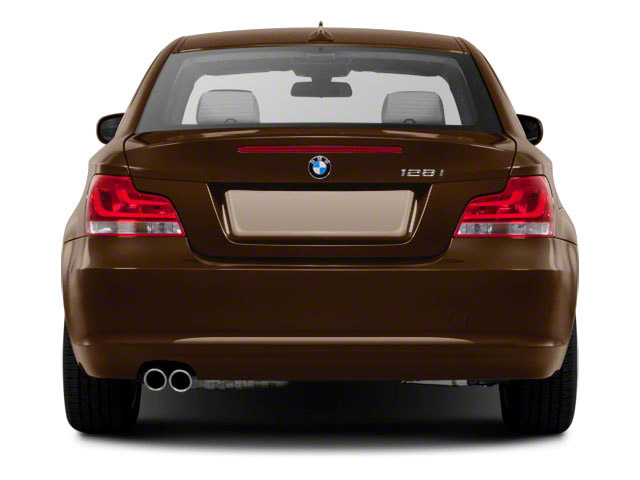 2012 BMW 1 Series Prices and Values Coupe 2D 135i rear view
