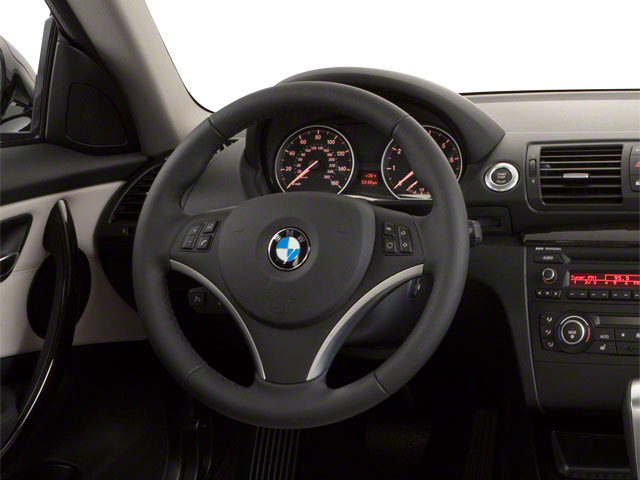 2012 BMW 1 Series Prices and Values Coupe 2D 135i driver's dashboard