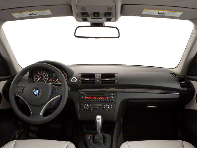 2012 BMW 1 Series Prices and Values Coupe 2D 135i full dashboard