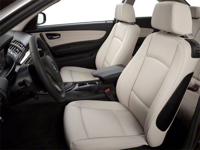 2012 BMW 1 Series Prices and Values Coupe 2D 135i front seat interior