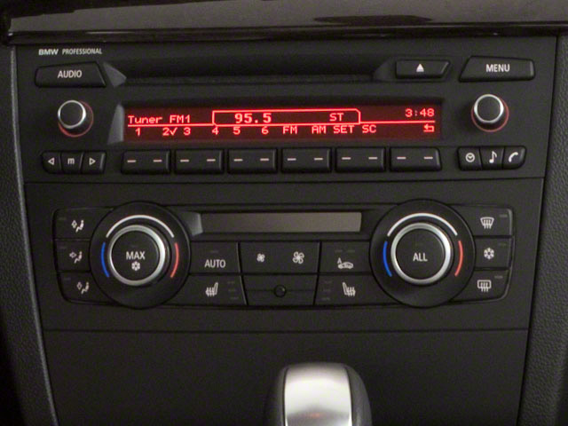 2012 BMW 1 Series Prices and Values Coupe 2D 135i stereo system