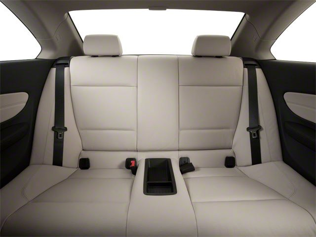 2012 BMW 1 Series Prices and Values Coupe 2D 135i backseat interior