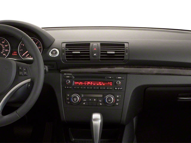 2012 BMW 1 Series Prices and Values Coupe 2D 135i center dashboard
