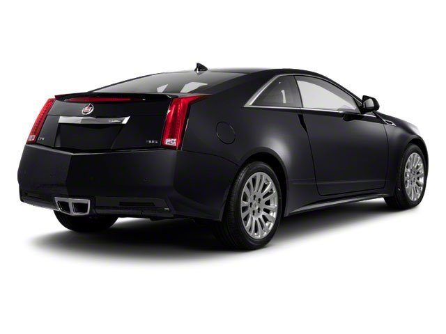 2012 Cadillac CTS Coupe Prices and Values Coupe 2D AWD side rear view