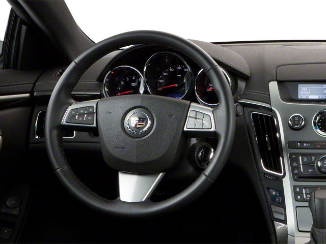 2012 Cadillac CTS Coupe Prices and Values Coupe 2D AWD driver's dashboard