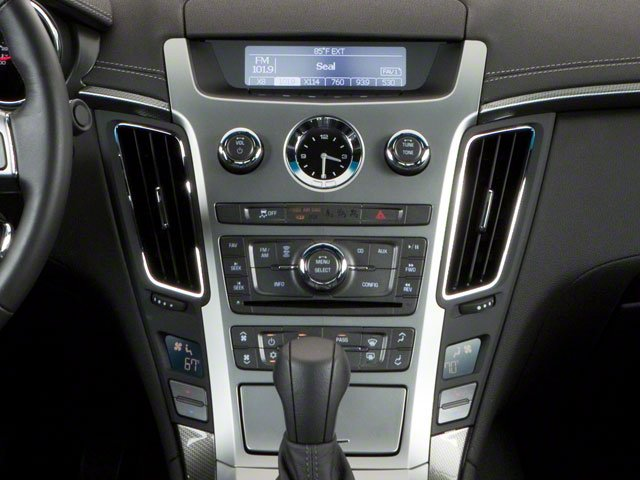 2012 Cadillac CTS Coupe Prices and Values Coupe 2D AWD center console