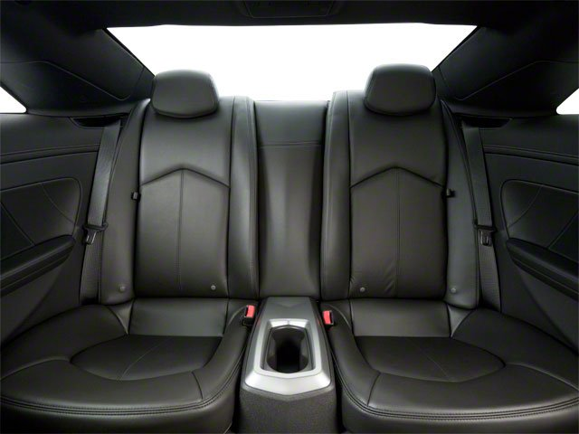 2012 Cadillac CTS Coupe Prices and Values Coupe 2D AWD backseat interior