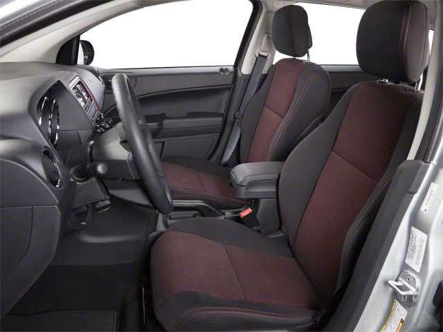 2012 Dodge Caliber Prices and Values Wagon 4D SXT Plus front seat interior