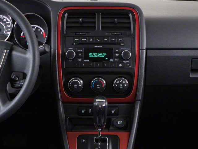 2012 Dodge Caliber Prices and Values Wagon 4D Rush center console