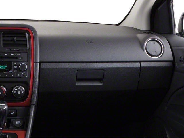 2012 Dodge Caliber Prices and Values Wagon 4D SXT Plus passenger's dashboard