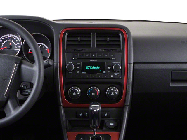 2012 Dodge Caliber Prices and Values Wagon 4D SXT Plus center dashboard