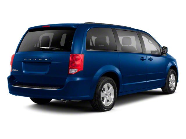 2012 Dodge Grand Caravan Prices and Values Grand Caravan SE side rear view