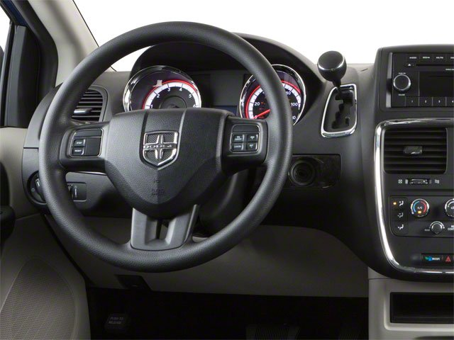 2012 Dodge Grand Caravan Prices and Values Grand Caravan SE driver's dashboard