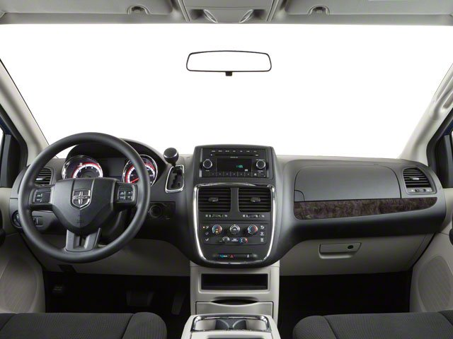 2012 Dodge Grand Caravan Prices and Values Grand Caravan SE full dashboard