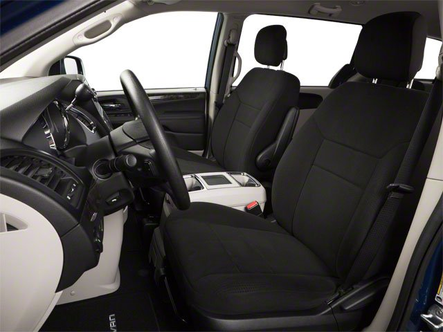 2012 Dodge Grand Caravan Prices and Values Grand Caravan SE front seat interior