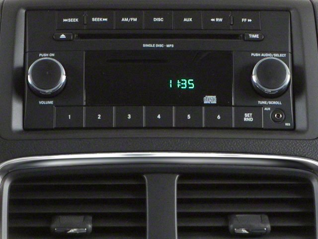 2012 Dodge Grand Caravan Prices and Values Grand Caravan SE stereo system