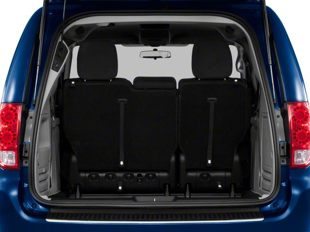 2012 Dodge Grand Caravan Prices and Values Grand Caravan SE open trunk