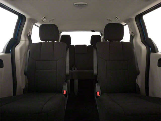 2012 Dodge Grand Caravan Prices and Values Grand Caravan SE backseat interior