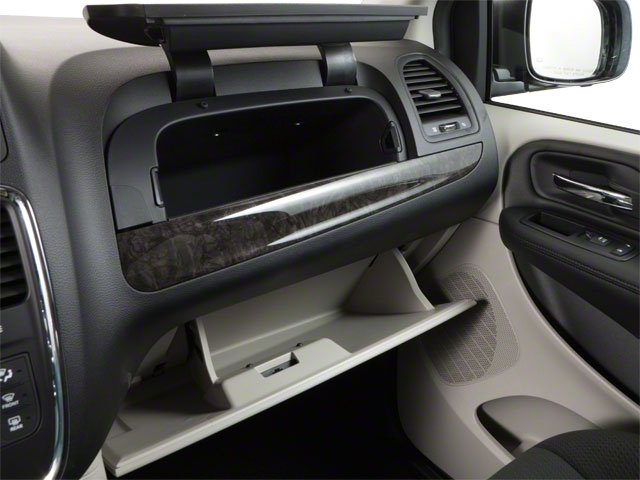 2012 Dodge Grand Caravan Prices and Values Grand Caravan SE glove box