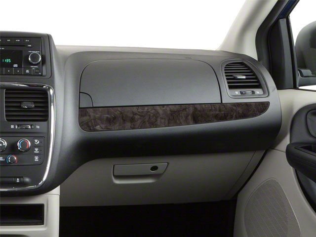 2012 Dodge Grand Caravan Prices and Values Grand Caravan SE passenger's dashboard