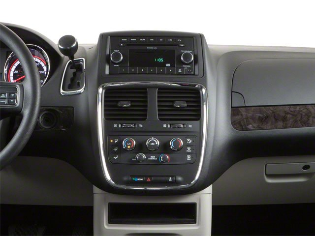 2012 Dodge Grand Caravan Prices and Values Grand Caravan SE center dashboard