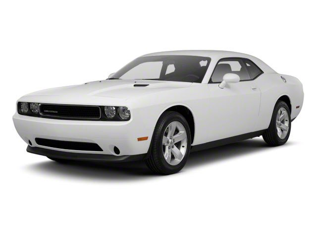 2012 Dodge Challenger Prices and Values Coupe 2D SXT side front view