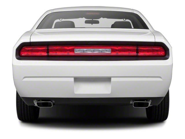 2012 Dodge Challenger Prices and Values Coupe 2D R/T rear view
