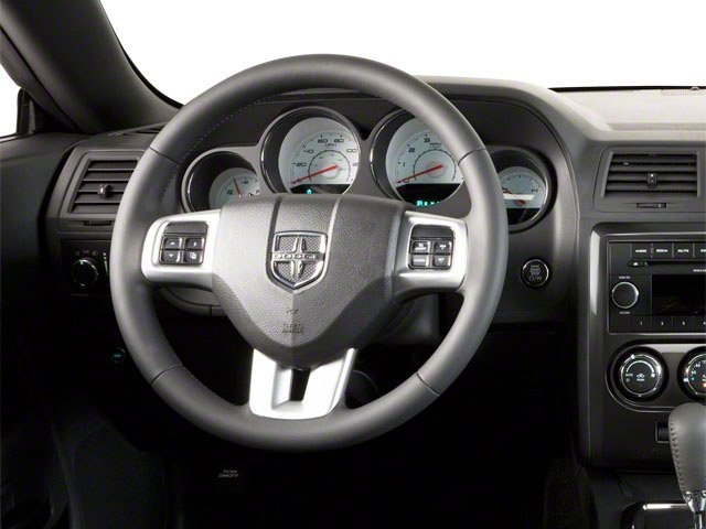 2012 Dodge Challenger Prices and Values Coupe 2D SXT driver's dashboard