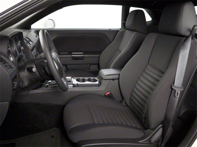 2012 Dodge Challenger Prices and Values Coupe 2D SXT front seat interior