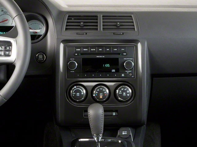 2012 Dodge Challenger Prices and Values Coupe 2D SXT center console