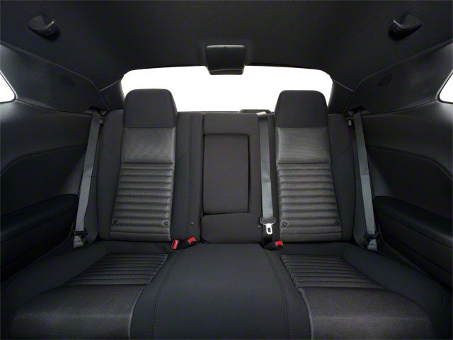 2012 Dodge Challenger Prices and Values Coupe 2D R/T backseat interior