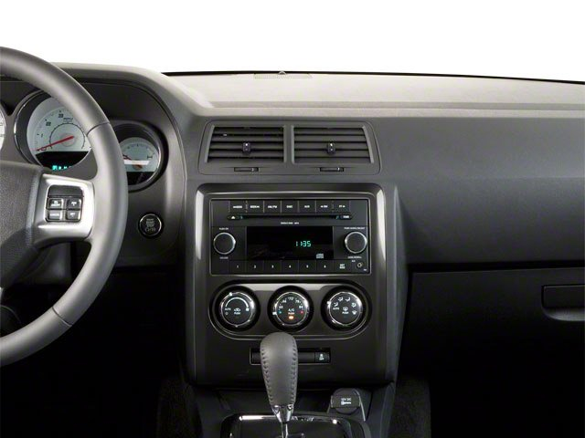 2012 Dodge Challenger Prices and Values Coupe 2D R/T center dashboard