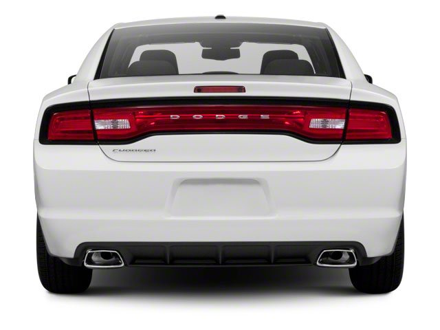 2012 Dodge Charger Prices and Values Sedan 4D Police rear view