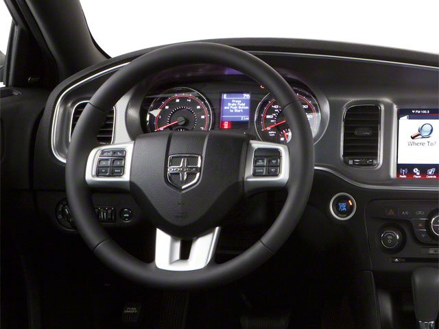 2012 Dodge Charger Prices and Values Sedan 4D Police driver's dashboard