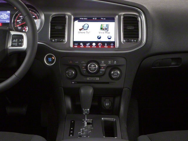 2012 Dodge Charger Prices and Values Sedan 4D Police center console