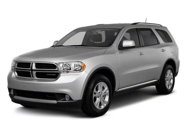2012 Dodge Durango Prices and Values Utility 4D R/T 2WD side front view