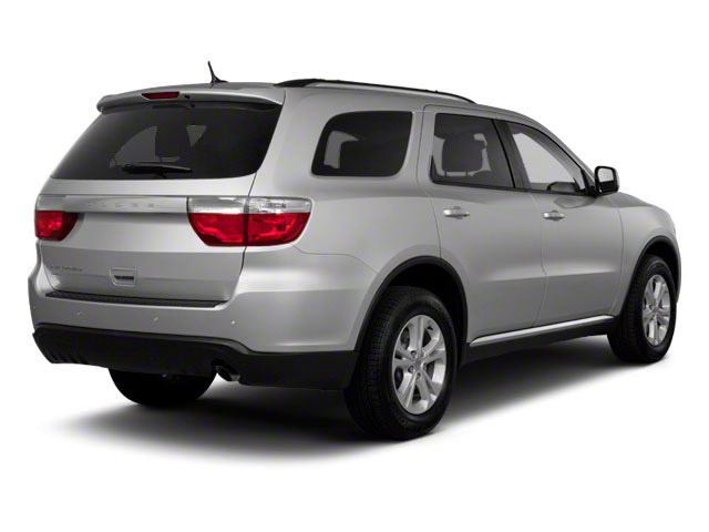 2012 Dodge Durango Prices and Values Utility 4D R/T 2WD side rear view