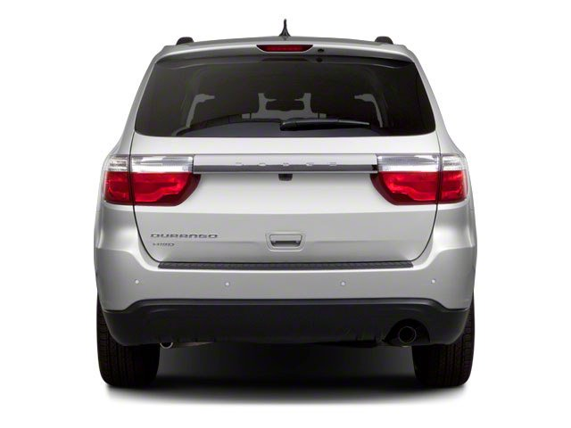 2012 Dodge Durango Prices and Values Utility 4D Heat 2WD rear view