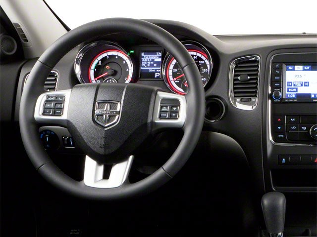 2012 Dodge Durango Prices and Values Utility 4D Heat 2WD driver's dashboard