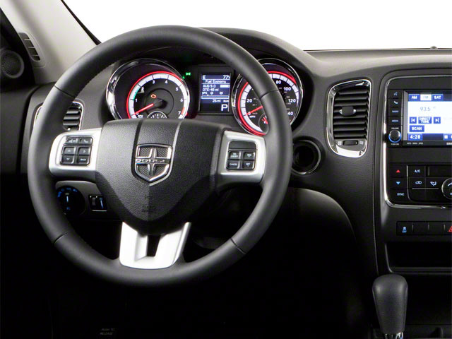 2012 Dodge Durango Prices and Values Utility 4D R/T 2WD driver's dashboard